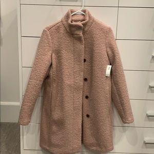 Blush pea coat